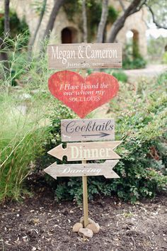 adorable directional signs