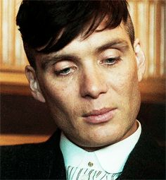 Classic Tommy Shelby gif. Cillian Murphy.
