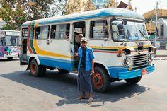 Bus Driver :: Yangon (仰光) Myanmar