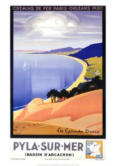 Région Aquitaine Département Gironde Pierre Commarmond (1897-1983): Pyla-sur-Mer,