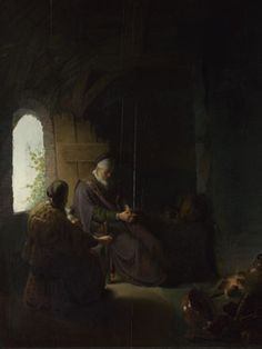 Rembrandt: 'Anna and the Blind Tobit'