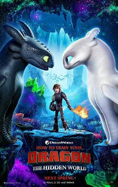OMGG THE LIGHT FURY AND HICCUP'S FULL ARMOR