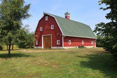 Gambrel Party Barn - rustic - Exterior - Other Metro - Sand Creek Post & Beam