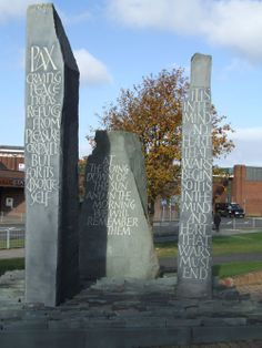 War Memorials, Glass Engraving, Calligraphy Letters, Stone Cuts, Stone Carving, Durham, Places To Visit, Corner, Memories