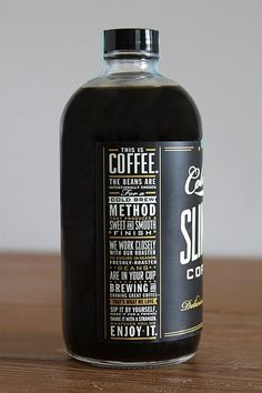 This is Coffee - Love the typography and packaging