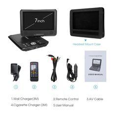 Portable DVD Players Dvd Players, Top, Crop Tee
