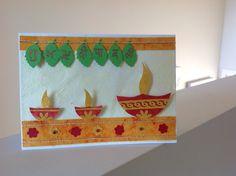 Diwali wishes Diy Diwali Cards, Diwali Greeting Cards, Diwali Greetings, Diwali Wishes, Happy Diwali, Diwali For Kids, Diwali Craft, Diwali Diya, Backdrop Decorations