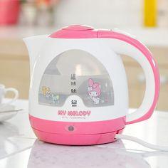 my melody kettle マイメロディ 電気ケトル【楽天市場】This too Vanessa!