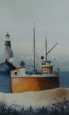 By The Lighthouse; Gary Walton.