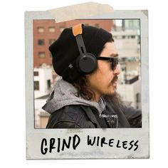 Skullcandy Grind Wireless on-ear headphone delivers premium build and sound quality without the premium price. Thirty-three feet of long-range Bluetooth® wireless connectivity and 12 long hours of battery life won't tie you down, while the built-in microphone and track, call and volume controls keep you in command.