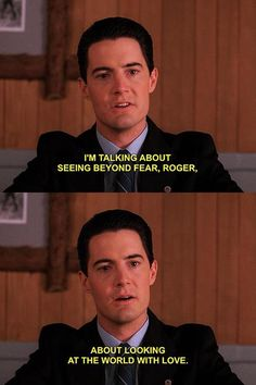 Twin Peaks by David Lynch. Twin Peaks Quotes, David Lynch Twin Peaks, Kyle Maclachlan, Laura Palmer, Between Two Worlds, Film Quotes, Film Stills, Movie Tv, Tv Series
