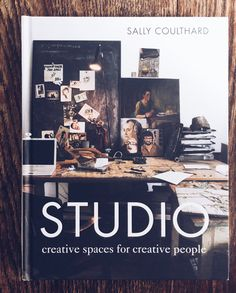 Photography by Pia Jane Bijkerk of Leslie Oschmann's Amsterdam studio for the book cover of Studio by Sally Coulthard