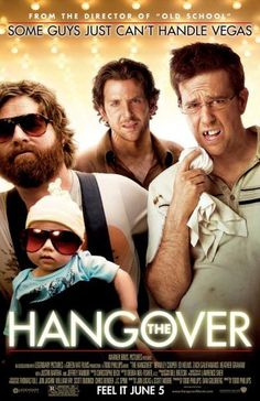 Get The Hangover DVD and Blu-ray release date, trailer, movie poster and movie stats. The Hangover is an adult comedy that focuses on a wild weekend of four men celebrating a bachelor party in Las Vegas. At the start of their wild night before manner. Good Comedy Movies, Funny Movies, Great Movies, Funniest Movies, Awesome Movies, Comedy Film, Watch Movies, Movies Free, Funny Comedy