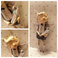 Posts you've liked Doll Crafts, Diy Doll, Paper Dolls, Art Dolls, Polymer Clay Dolls, Paper Clay, Softies, Pottery Art, Puppets