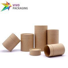 Kraft Paper Cylinders, Eco-Friendly Packaging Tubes, Paper Tea Canisters, Two Piece Paper Tubes pcs) - celebrations club Candle Packaging, Flower Packaging, Paper Packaging, Coffee Packaging, Kraft Packaging, Packaging Suppliers, Tea Canisters, Tea Design, Packaging Design Inspiration