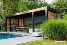 Poolhaus: moderner Garten von derraumhoch3