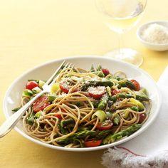 Pasta Primavera #recipe #pasta