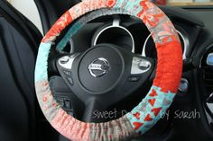 30-Minute Gift: Padded Steering Wheel CoverTutorial on the Moda Bake Shop. http://www.modabakeshop.com  future potential xmas gift