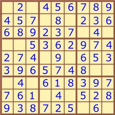 Free kids' Sudoku printables