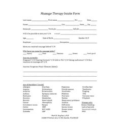 59 Best Massage Intake Forms for any Client - Printable Templates Questionnaire Template, Survey Template, Order Form Template, Flyer Template, Massage Intake Forms, Alphabet Templates, Printable Templates, School Admission Form