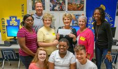 Our Lady Star of the Sea ladies guild donates a gift for Teen Angel