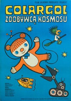 Coralgol Winner of the Cosmos - ORIGINAL POLISH POSTER (Jeremy in Canada)