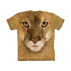 Mountain Lion Face Tee