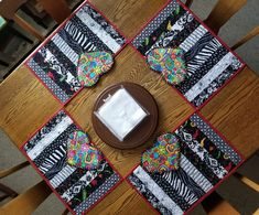 Placemats and Mug Rugs By Ginny Cook 2018