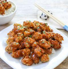 Baked Orange Chicken   Kirbie's Cravings   A San Diego food blog