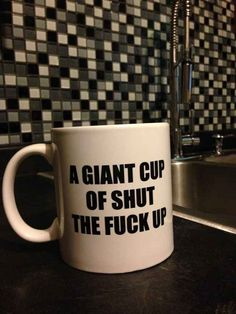 My first cup every morning. 26 Genius Mugs You Need To Drink Out Of Right Now