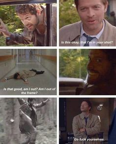 I love the season 8 gag reel.