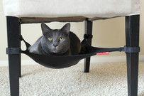 Cat Crib -kissanpeti: Tee kissallesi oma paikka tuolin alle!