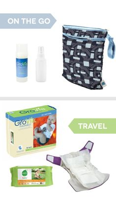 Tips for taking cloth diapers on the road! #realdiapers