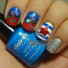4th+of+july+nail+designs | ... 4th Of July Nails 2 15 Stunning Fourth Of July Nail Art Designs, Ideas