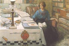 Carl Larsson. Bolla I - 1913
