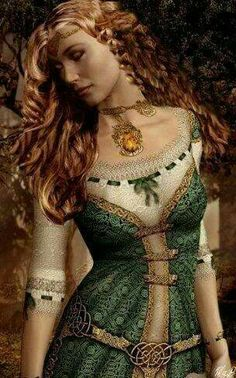 Airmid was the daughter of Diancecht, the God of Medicine, and the Chief Physician and Magician of the Tuatha De Danaan. She also had four brothers: Miach, Cian, Cethe, and Cu, and they all followed closely in their father's footsteps