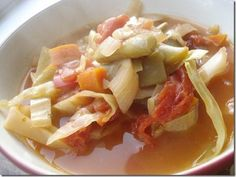 Loaded Cabbage Soup. Adapt for FMD Fast Metabolism Diet P1 by skipping the olive oil. Leave as is for P3.
