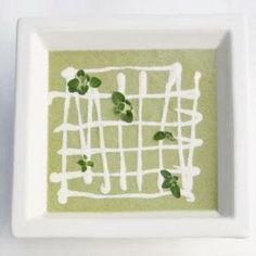 Asparagus and Buttermilk Vichyssoise with Truffled Mascarpone Cream ...