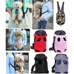 d4be588be50 $7.88 - Puppy Pet Dog Cat Carrier Backpack Front Net Nylon Bag Tote Carrier  Sling #ebay #Home & Garden