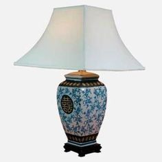 Blue and WhiteTable Lamp