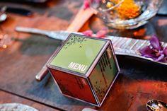 Cube menus.