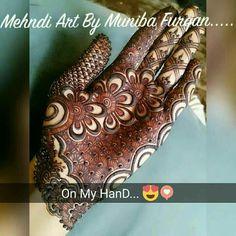 Mehendhi ❤ Modern Mehndi Designs, Dulhan Mehndi Designs, Mehndi Designs For Fingers, Wedding Mehndi Designs, Mehndi Design Pictures, Beautiful Mehndi Design, Simple Mehndi Designs, Mehendi, Mehndi Images