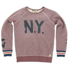 Scotch and Soda - Trui NY bordeaux rood