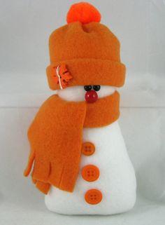 Christmas Decoration Snowman Ornaments Set of 2 by ByFreddismom