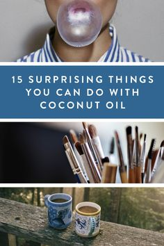 15 Surprising Things You Can Do With Coconut Oil via @PureWow