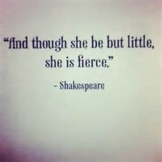 SHAKESPEARE KNOWS!