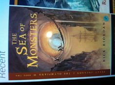 The 2nd book in Percy Jackson series