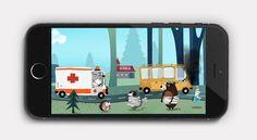 Smartphone game turns kids into helpful back-seat drivers. #Happonomy