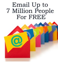 CLICK ON THE PICTURE OR LINK to Email Thousands of People for FREE  http://www.ListFire.com/65981