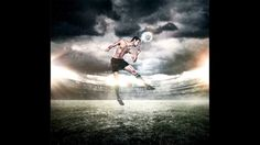 Behind the scenes of the Toronto Soccer series. Soccer player photographed by Steve Apostle.   ©Featherwax 2012